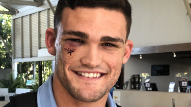The morning after ... Nathan Cleary.
