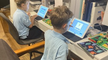 Teachers reported some students had limited access to devices during remote learning.