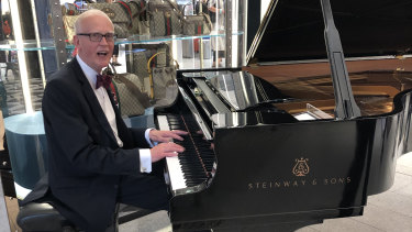 As times change at David Jones, Michael Hope and his Steinway remain a constant.