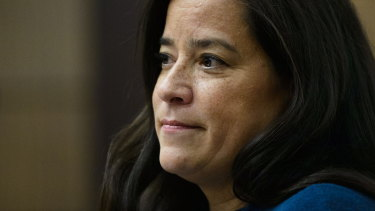 Jody Wilson-Raybould appears at the House of Commons Justice Committee in Ottawa on Wednesday.