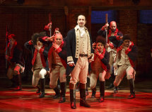 Lin-Manuel Miranda, creator of Hamilton, plays the leading role in the movie version of the hit musical.