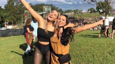 Brisbane's Nicole Goddard (left) has been waiting for months to dance with friends and family after she was forced to cancel tickets to numerous festivals.