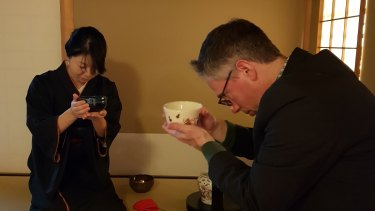 The Japanese tea ceremony is rich with ritual and meaning.