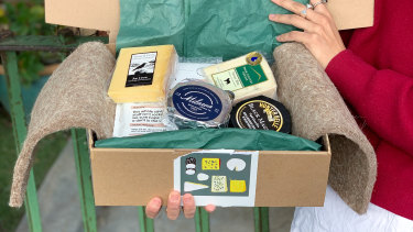 Mould Cheese Collective delivers the cheese to your door