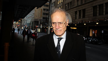 Former High Court justice Dyson Heydon has denied sexual harassment allegations.