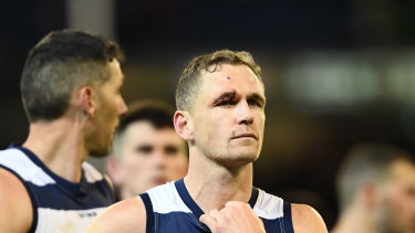 Joel Selwood after Geelong's loss to Collingwood in the first qualifying final.