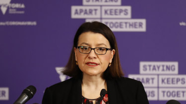 Victorian Health Minister Jenny Mikakos sent out a string of tweets apologising if her work had not been good enough.