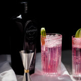 Scapegrace Black Gin changes colour when mixed with tonic.