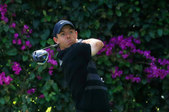 Rory McIlroy is in the lead in Mexico City.