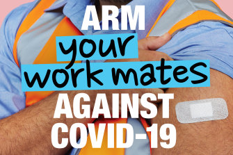 The new Australian Government advertising campaign for vaccination against COVID-19 launches Sunday.