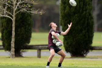 Carrying Manly's finals hopes: Daly Cherry-Evans.