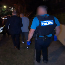 Dozens of Victorians arrested in 'sting of the century' targeting gangland encrypted message app