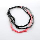 """Felix Gill """"Pink Robin"""" neckpiece."""