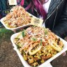 Some of the paella dishes that will be served at Brisbane Night Noodle Markets from July 24.