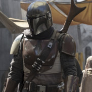 Disney+'s most anticipated series, the Star Wars western The Mandalorian.