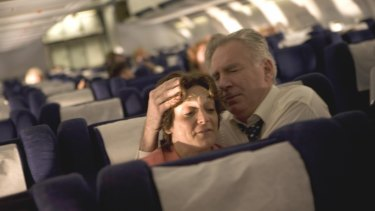 A scene from director Paul Greengrass's United 93.