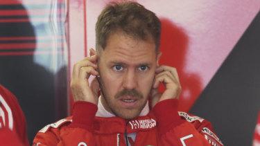 Sebastian Vettel was fastest in first practice.