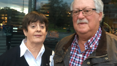 Ian and Helen Barr heard the accident.