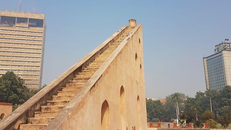 Stairs to 'nowhere' at Jantar Mantar.