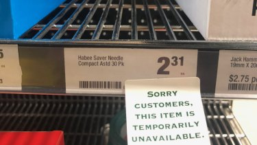 Needles have been pulled from the shelves at Woolworths following a national strawberry contamination crisis.