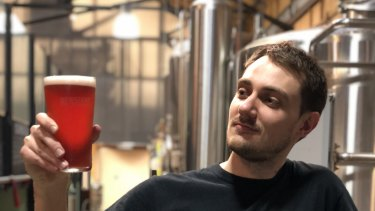 Newstead Brewing Co have created strawberry beer to support Queensland farmers who have been hit by the contamination crisis.