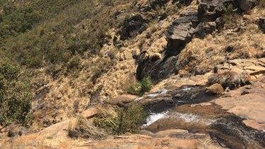 Lesmurdie Falls.