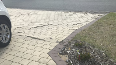 Mr Howard said he has paid thousands to repair his driveway due to root invasion from a verge tree.