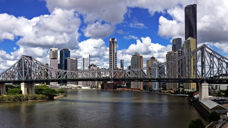 The Story Bridge carries about 100,000 vehicles across the Brisbane River daily, according to Brisbane City Council.