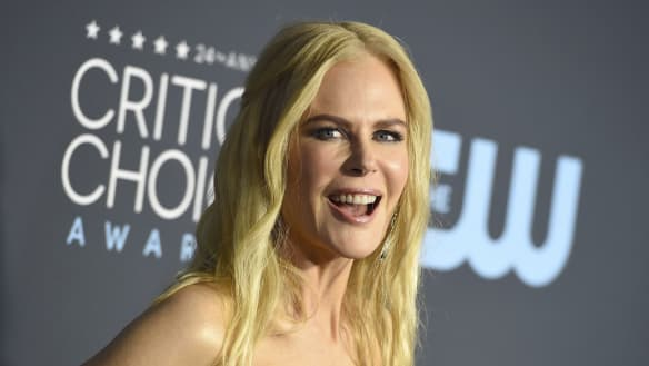 Nicole Kidman working hard in pre-Oscars charm offensive