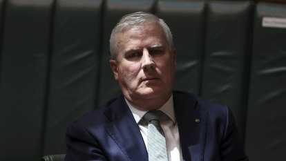 Michael McCormack will lead Nationals to election 'if he wants': Littleproud