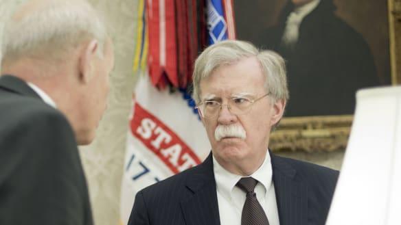 John Kelly, John Bolton heard in shouting match outside Oval Office