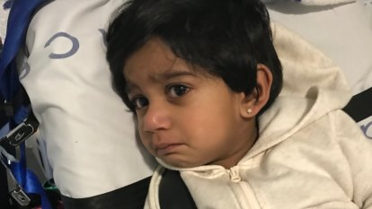 Family say two-year-old detainee 'recovering', government denies she was hurt
