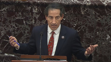 House impeachment manager Jamie Raskin surprised the Senate by requesting that witnesses appear at the trial.
