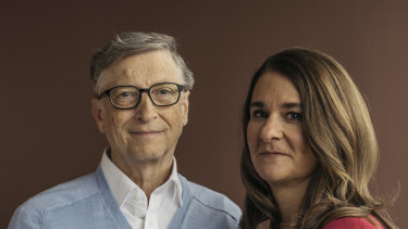 In more unified times: Bill and Melinda Gates.
