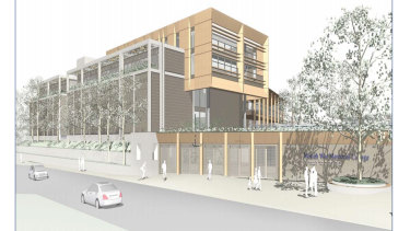 An artist's impression of the proposed $81.7 million upgrade of Moriah College.