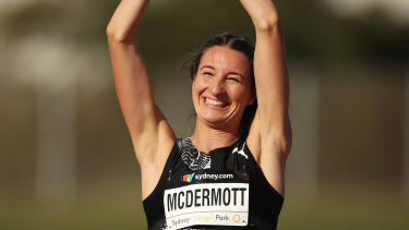Just 20 years old, Nicola McDermott recently became the first Australian woman to clear two metres in the high jump.