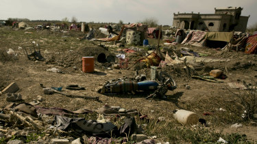 Baghouz was the last IS stronghold in Syria.