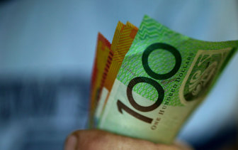 Australians can't get enough high value notes in their shoeboxes or under the mattress.