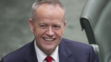 "Bill Shorten: ""We have a vision for the future, the plan to pay for it and the team to deliver it."""