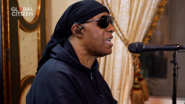 Stevie Wonder will campaign with Joe Biden and Barack Obama in Detroit, Michigan.
