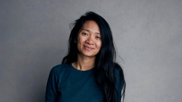Deserves to win: Nomadland director Chloe Zhao.