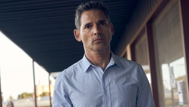 Topping $20 million at the Australian box office: Eric Bana in The Dry.