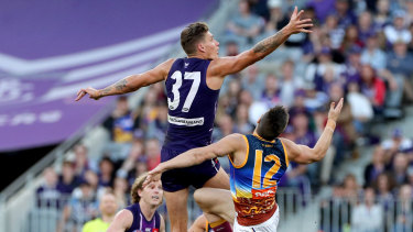 Rory Lobb soared in his first season at Fremantle and the club hopes he stays fit throughout 2020.