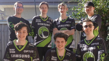 Adelaide's League of Legends esports side, known as 'Legacy'.