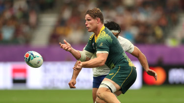 Wallabies captain Michael Hooper has played in every game of Australia's campaign thus far.