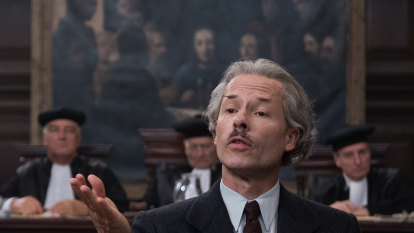 Guy Pearce at his best as the art forger who conned Goering