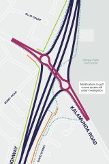 The future intersection upgrade.