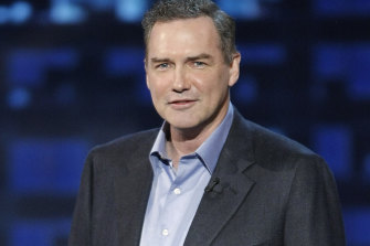 Norm Macdonald at the Comedy Central Roast of Bob Saget in 2008.