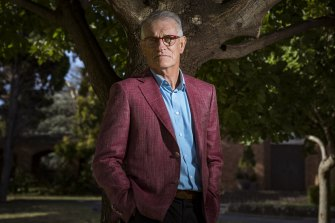 Recently retired principal Allan Shaw.