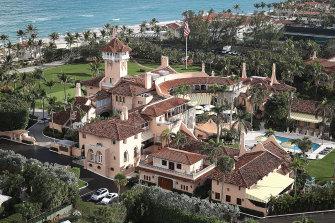 Donald Trump's Mar-a-Lago estate/social club in Palm Beach, Florida.